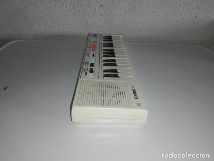 Instrumentos musicales: TECLADO piano CASIO PT1 PT-1 BLANCO FUNCIONANDO vintage cg4 - Foto 4 - 140405510