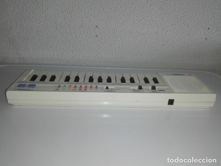 Instrumentos musicales: TECLADO piano CASIO PT1 PT-1 BLANCO FUNCIONANDO vintage cg4 - Foto 5 - 140405510