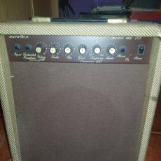 Instrumentos musicales: AMPLIFICADOR DE GUITARRA MARATHON MX-33-R. VINTAGE. FORRADO EN TELA DE TWEED. ALTAVOZ DE10 PULGADAS. Lote 140465409