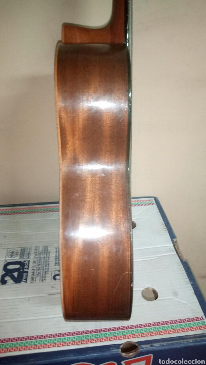 Instrumentos musicales: Guitarra antigua cadete para restaurar - Foto 3 - 151652746
