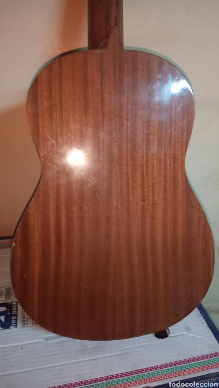 Instrumentos musicales: Guitarra antigua cadete para restaurar - Foto 4 - 151652746