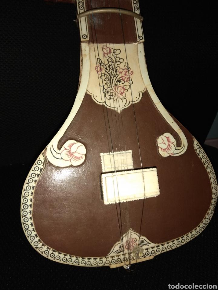 Instrumentos musicales: Sitar Antiguo de 12 Cuerdas - Foto 20 - 144015893