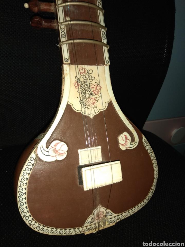 Instrumentos musicales: Sitar Antiguo de 12 Cuerdas - Foto 21 - 144015893
