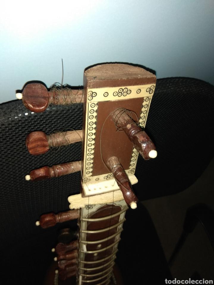 Instrumentos musicales: Sitar Antiguo de 12 Cuerdas - Foto 22 - 144015893