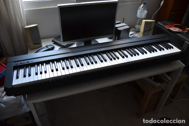 YAMAHA P-35B PIANO DIGITAL PORTÁTIL, 88 TECLAS GHS - NEGRO (Música - Instrumentos Musicales - Pianos Antiguos)