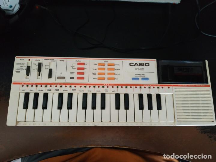 PIANO CASIO PT-82 FUNCIONANDO (Música - Instrumentos Musicales - Pianos Antiguos)