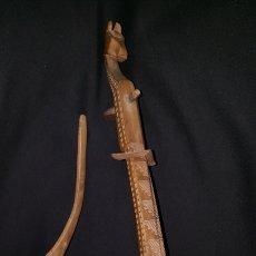 Instrumentos musicales: ANTIGUO CORDÓFONO DE UNA SOLA CUERDA (GUZLA). Lote 141663717