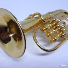 Instrumentos musicales: TUBA MINIATURA. Lote 42048655