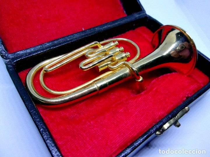 Instrumentos musicales: TUBA MINIATURA - Foto 6 - 42048655
