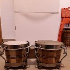 Instrumentos musicales: BONGOS CUBANOS.. Lote 142277222