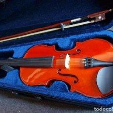 Instrumentos musicales: VIOLÍN 3/4, COMPLETO CON ESTUCHE, ARCO Y RESINA.. Lote 142117066