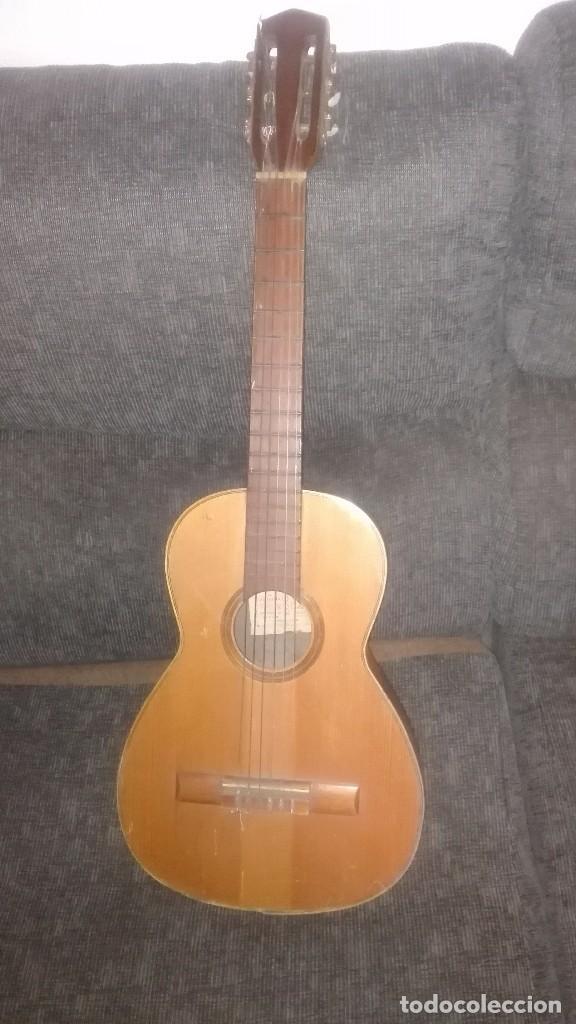 GUITARRA ANTIGUA ROCA.VALENCIA.AÑOS 60 (Música - Instrumentos Musicales - Guitarras Antiguas)