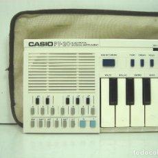 Instrumentos musicales: ORGANO TECLADO ELECTRONICO -CASIO PT-20 ¡¡FUNCIONANDO¡¡- JAPAN 80S - PT20 PIANO. Lote 142475602