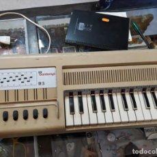 Instrumentos musicales: PIANO ELETRICO DE LOS AÑOS 60 APROX MARCA BOMTEMPI . Lote 143701098