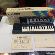 Instrumentos musicales: TECLADO CASIO PT-1 CON SU CAJA E INSTRUCCIONES -FUNCIONA- (G). Lote 143743110