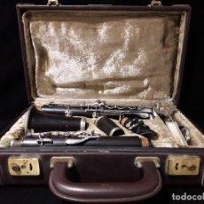 Instrumentos musicales: ANTIGUO CLARINETE PARISINO DE LA FIRMA CRAMPON Y CIA. Lote 143909622