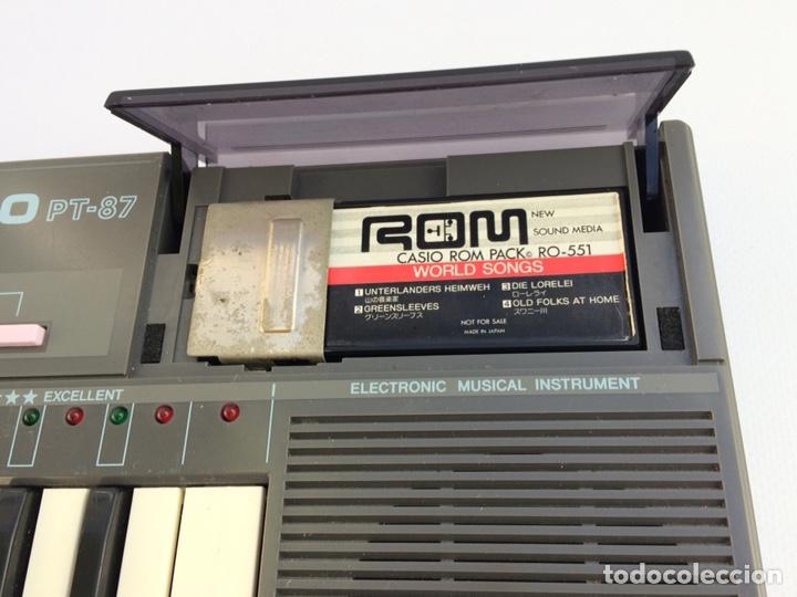 Instrumentos musicales: Órgano CASIO PT87 - Foto 4 - 144280654