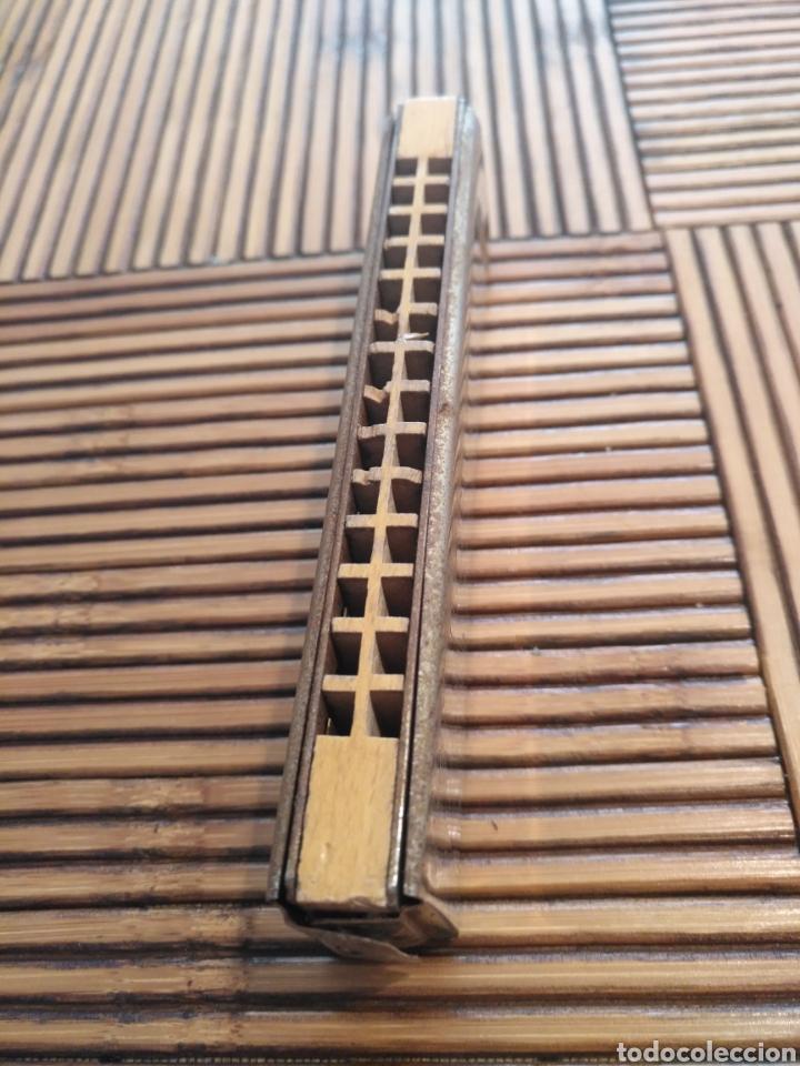 Instrumentos musicales: Antigua armónica Mica Rytmus, zechoslovaka. - Foto 2 - 144322934
