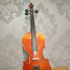 Instrumentos musicales: VIOLIN STRADIVARIUS FACIEBAT CREMONA 1713 CHECOSLOVAQUIA. Lote 144640397