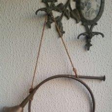 Instrumentos musicales: ANTIGUA CORNETA DE CAZA INGLESA COBRE LATON. Lote 242204455