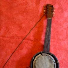 Instrumentos musicales: ANTIGUO BANJO. Lote 145496182