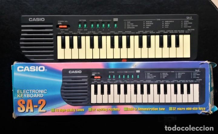ANTIGUO TECLADO PIANO - CASIO SA-2 ELECTRONIC (Música - Instrumentos Musicales - Teclados Eléctricos y Digitales)