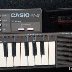 Instrumentos musicales: TECLADO PIANO CASIO PT 87. Lote 145784622