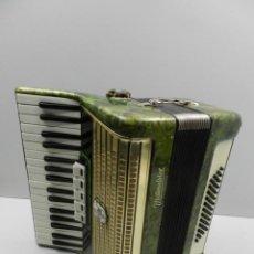 Instrumentos musicales: ANTIGUO ACORDEÓN ALEMAN WELTMEISTER BUEN ESTADO AUTENTICO INSTRUMENTO MUSICAL . Lote 146444986
