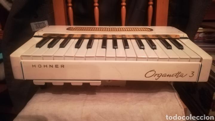 HOHNER, ORGANETTA 3, ÓRGANO ALEMÁN DE LA DÉCADA DE 1950 (Música - Instrumentos Musicales - Teclados Eléctricos y Digitales)