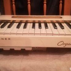 Instrumentos musicales: HOHNER, ORGANETTA 3, ÓRGANO ALEMÁN DE LA DÉCADA DE 1950. Lote 146589524