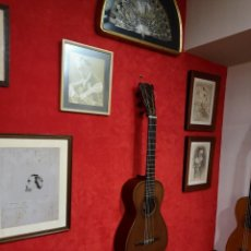 Instrumentos musicales: GUITARRA ROMÁNTICA JUAN MORENO (GUITARRA HISTÓRICA FINALES SIGLO XIX). Lote 146807422