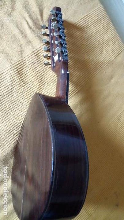 Instrumentos musicales: Preciosa bandurria José Serratosa - Foto 2 - 146904522