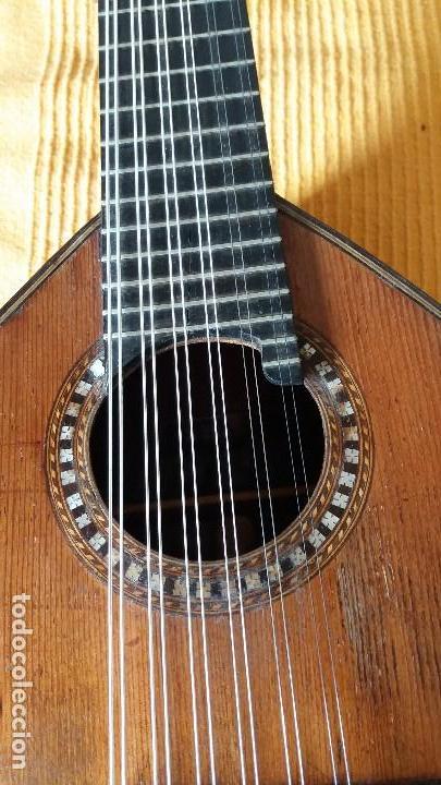 PRECIOSA BANDURRIA JOSÉ SERRATOSA (Música - Instrumentos Musicales - Cuerda Antiguos)