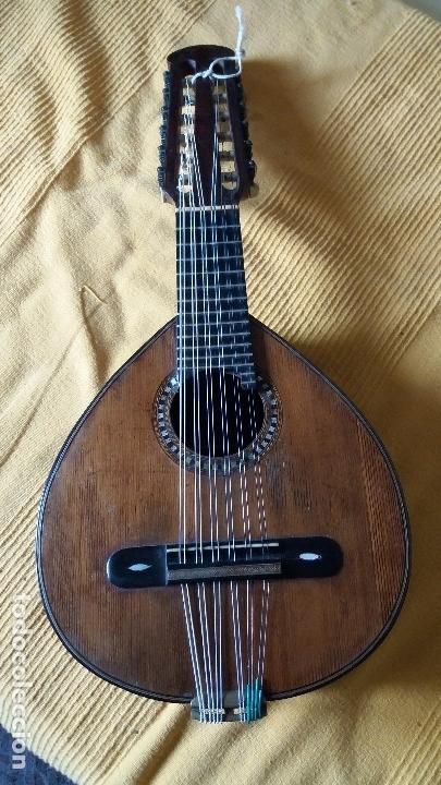 Instrumentos musicales: Preciosa bandurria José Serratosa - Foto 3 - 146904522