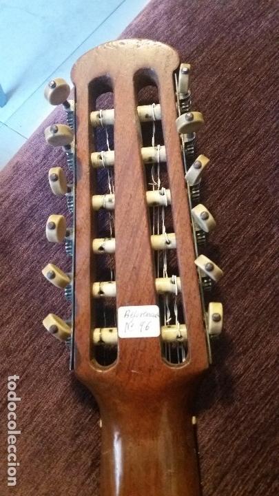 Instrumentos musicales: Preciosa bandurria José Serratosa - Foto 8 - 146904522