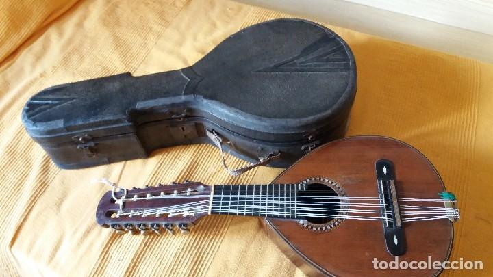 Instrumentos musicales: Preciosa bandurria José Serratosa - Foto 5 - 146904522