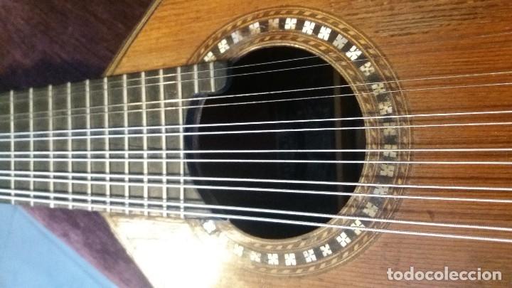 Instrumentos musicales: Preciosa bandurria José Serratosa - Foto 10 - 146904522