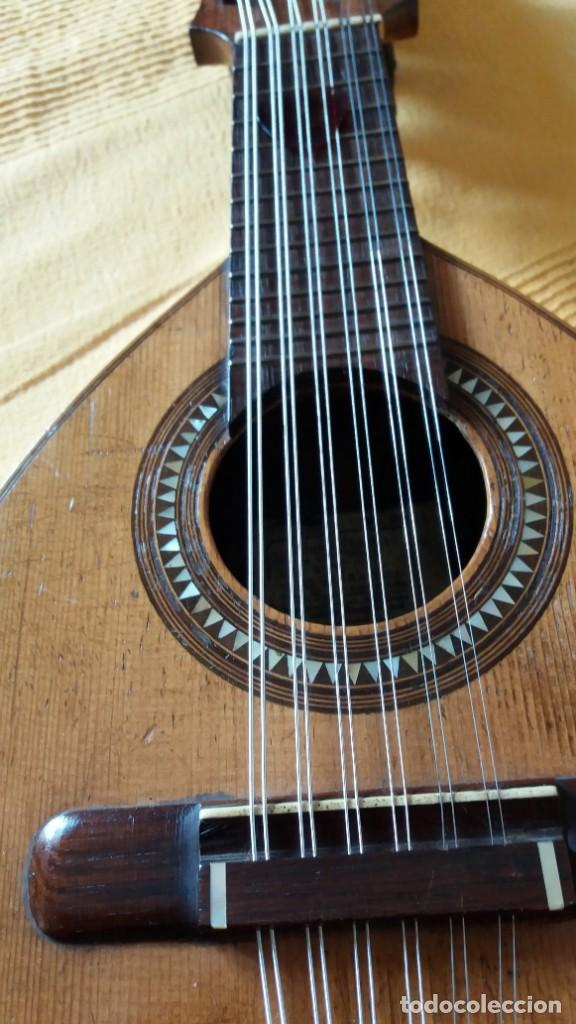 BANDURRIA ANTIGUA JOSÉ SERRATOSA (Música - Instrumentos Musicales - Cuerda Antiguos)