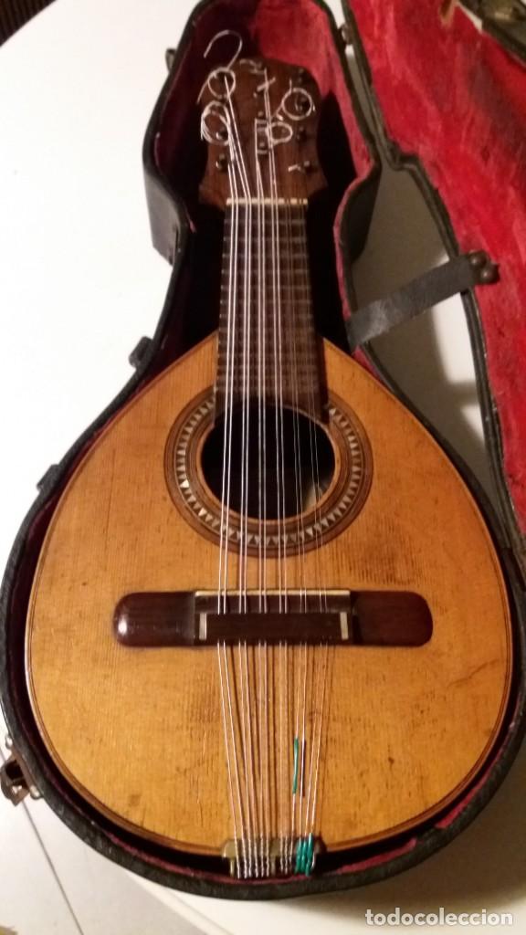 Instrumentos musicales: Bandurria antigua José Serratosa - Foto 2 - 147000302