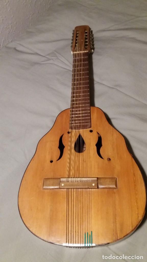 Instrumentos musicales: Laúd antiguo muy bonito - Foto 6 - 147001434