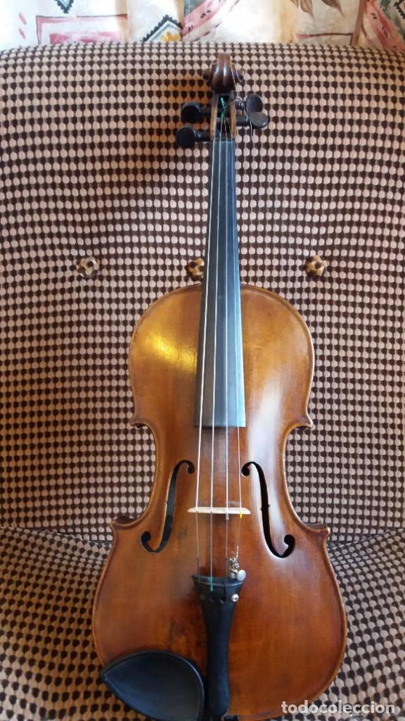 VIOLÍN ANTIGUO BOHUSLAV LANTNER (Música - Instrumentos Musicales - Cuerda Antiguos)