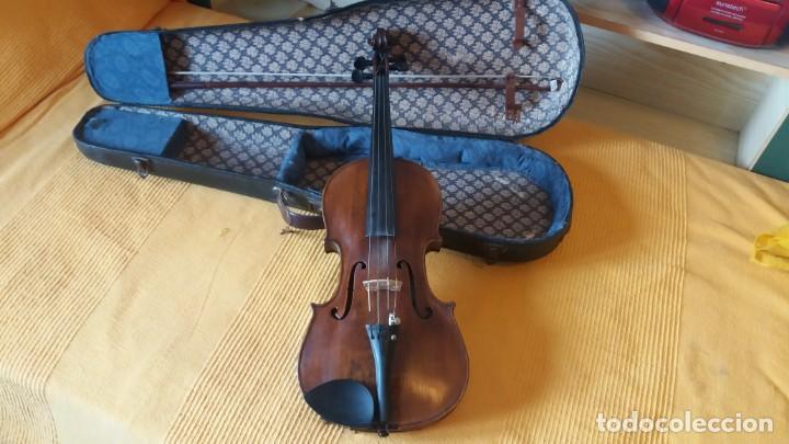 Instrumentos musicales: Violín antiguo Bohuslav Lantner - Foto 5 - 147015798