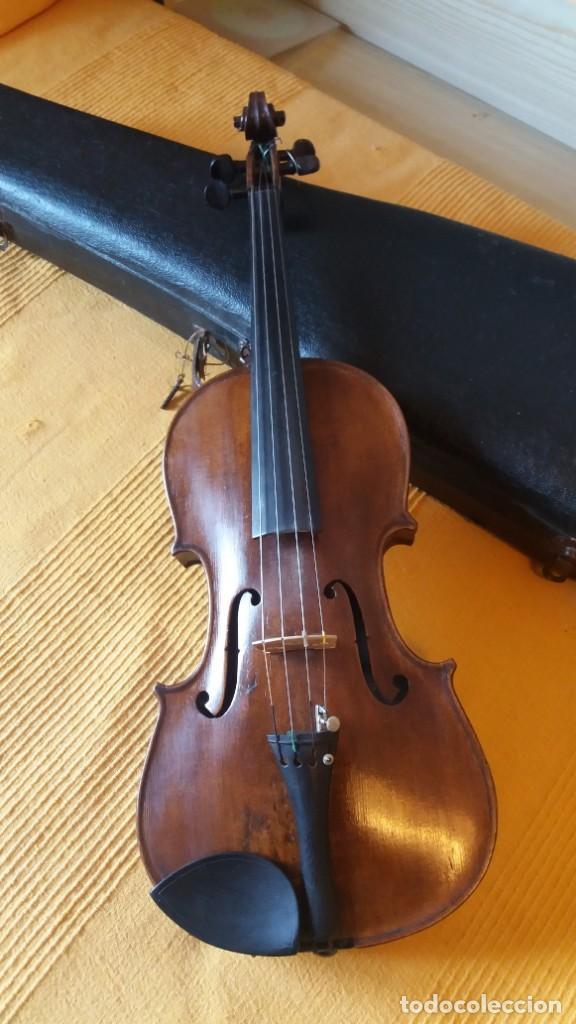 Instrumentos musicales: Violín antiguo Bohuslav Lantner - Foto 6 - 147015798