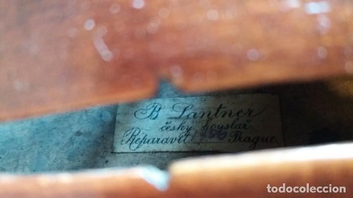 Instrumentos musicales: Violín antiguo Bohuslav Lantner - Foto 8 - 147015798