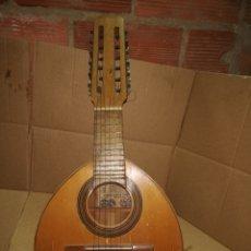 Instrumentos musicales: ESPECTACULAR ANTIGUA BANDURRIA AGUSTÍN GASPAR CEBRIÁN VALENCIA. Lote 147451014