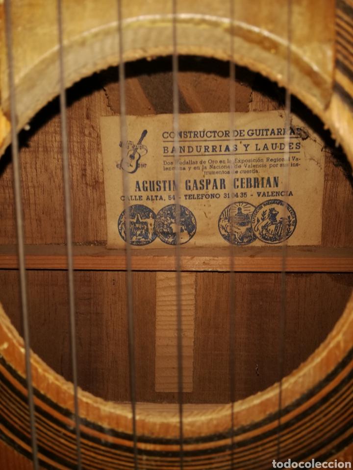 Musikinstrumente: Espectacular antigua bandurria Agustín Gaspar Cebrián Valencia - Foto 2 - 147451014