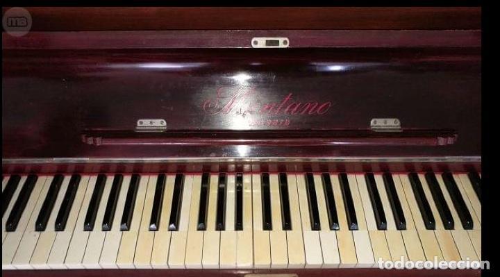 Instrumentos musicales: Piano de pared marca Montano - Foto 2 - 147680034