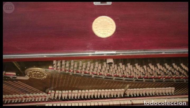Instrumentos musicales: Piano de pared marca Montano - Foto 3 - 147680034