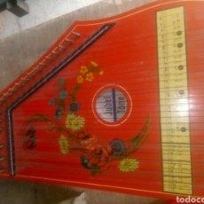 Instrumentos musicales: ANTIGUA CITARA. Lote 147716384
