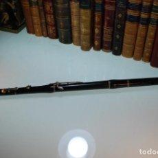 Instrumentos musicales: INTERESANTA FLAUTA TRAVESERA - MARTIN FRERES - FABRICADA EN PARIS - SIGLO XIX - MADERA DE CAOBA -. Lote 147896154